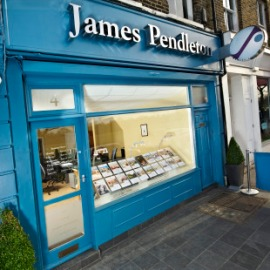 James Pendleton's Wandsworth Common office