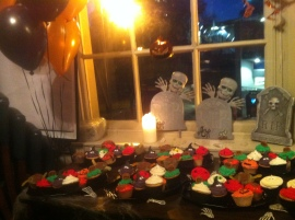 LivetoGive Halloween Decorations at the Alma