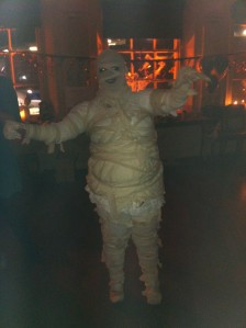 The winner of the LivetoGive Halloween costume competition!