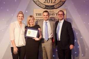 James Pendleton win four awards at the Sunday Times Estate Agency of the Year Awards
