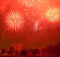 Brockwell Park Fireworks